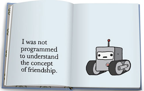 robot not programmed to have relationship
