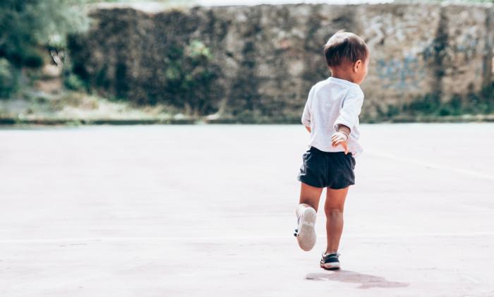 toddler running around. not me!