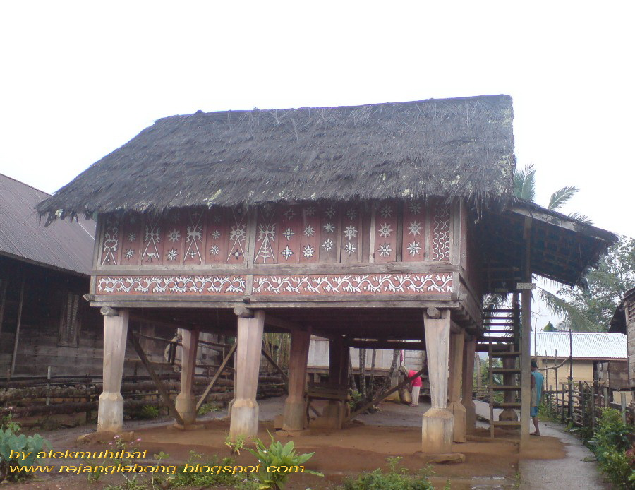 Traditional Rejang house