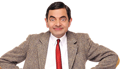 mr bean funny face