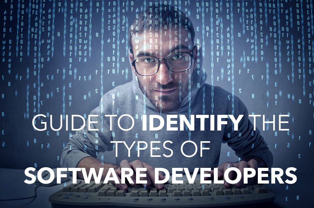 guide to identify software developers type