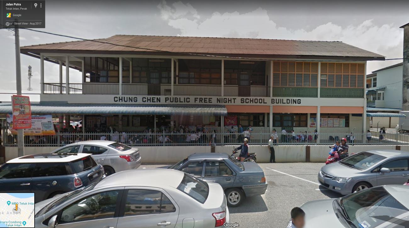 Chung Chen Free Night School location in Google Map