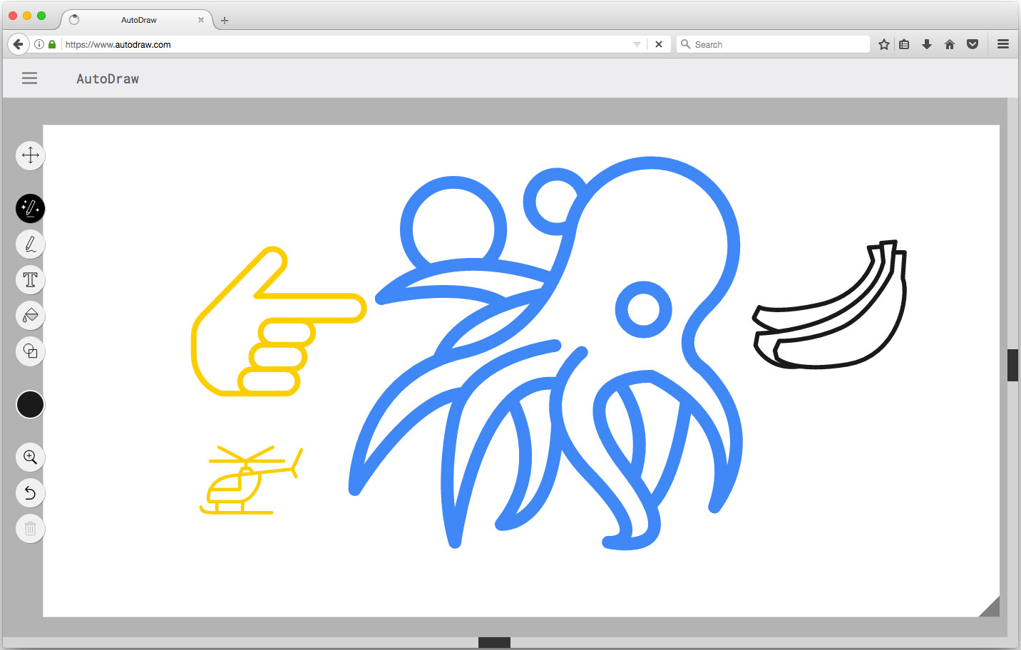 autodraw example