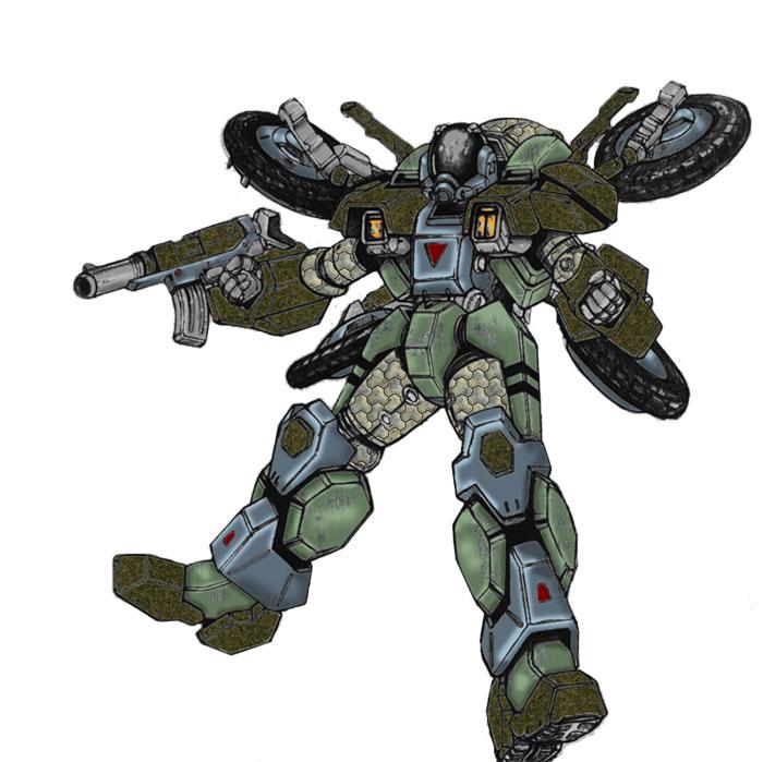 MOSPEADE Cyclone armor
