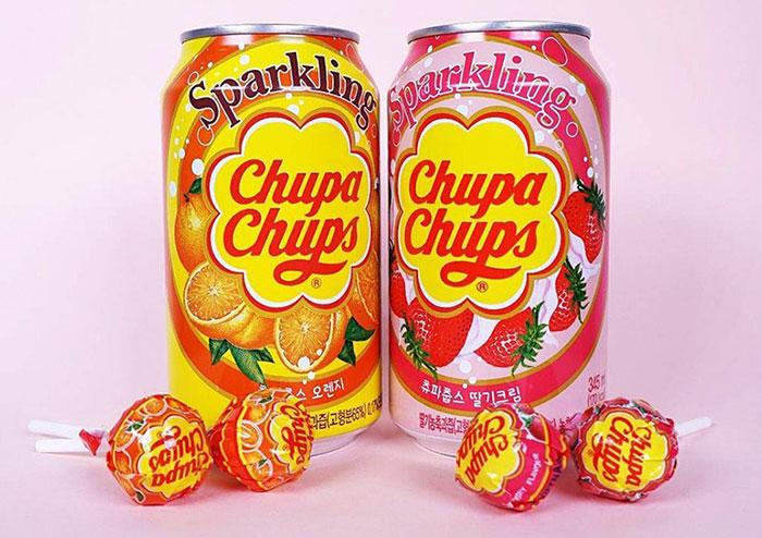 sparkling chupa chups sodas