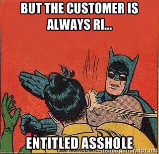 entitled asshole
