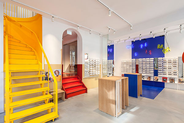Visual feast : Ace & Tate optical store in Copenhagen, Denmark