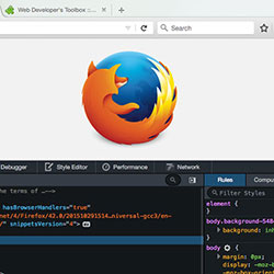 Explore Firefox developer tools