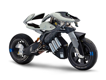 Motorcycle with artificial intelligence by Yamaha