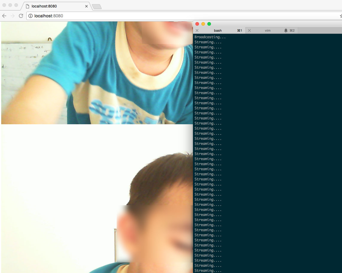 streaming out base64 encoded images to browser
