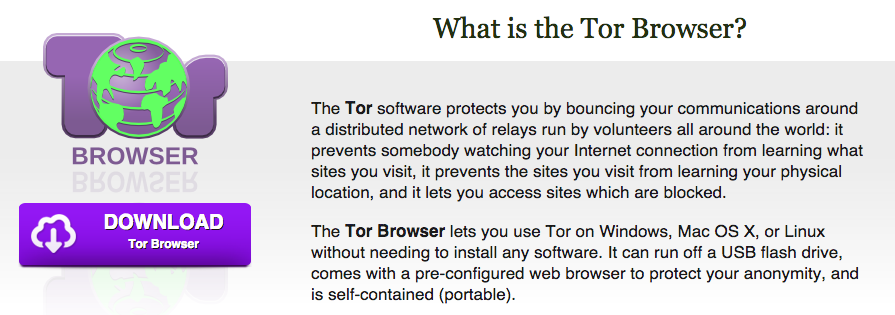 tor browser description